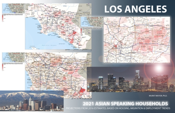LOS ANGELES, ASIAN SPEAKING HOUSEHOLDS, MURAT MAYOR